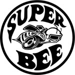 Dodge Super Bee  Decal Single Color