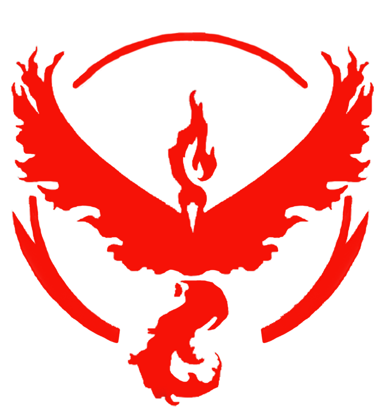 Pokemon Go Team Valor Vinyl Sticker Decal
